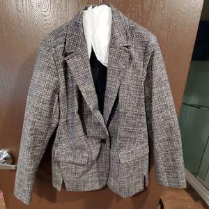 Tweed Blazer Lane Bryant Size 20